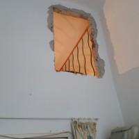 Ablak helye galéria magasságban