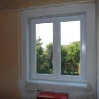 Műanyag ablak beépitve, eljavítva