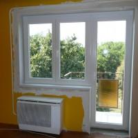 Műanyag ablak, teraszajtó, beépitve, eljavítva