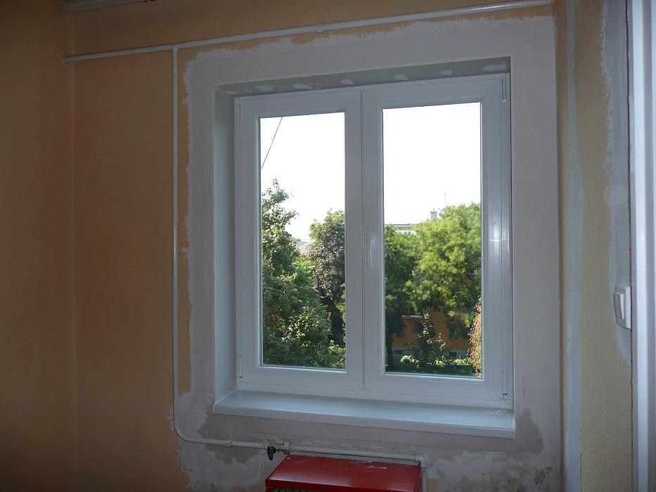 Aluplast műanyag váltószárnyas ablak, helyreállítva!